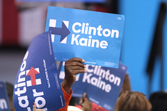 Hillary Clinton signs