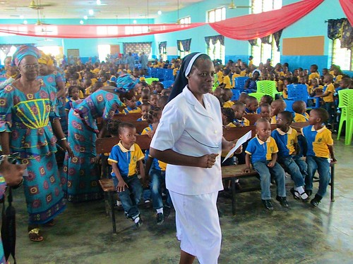 2016 World Teachers Day is celebrated at St Louis Nursery and Primary School, Akure