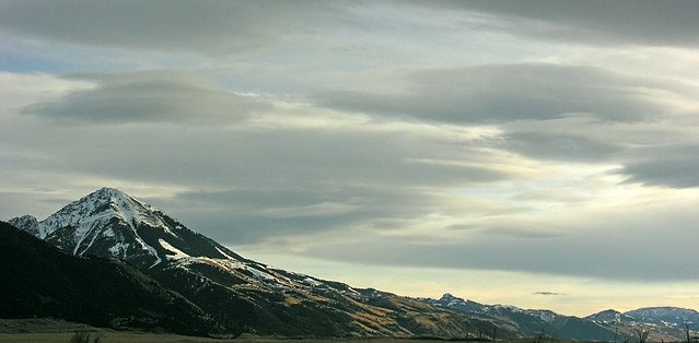 Emigrant Peak. Absaroka Mountains, Nikon E8800
