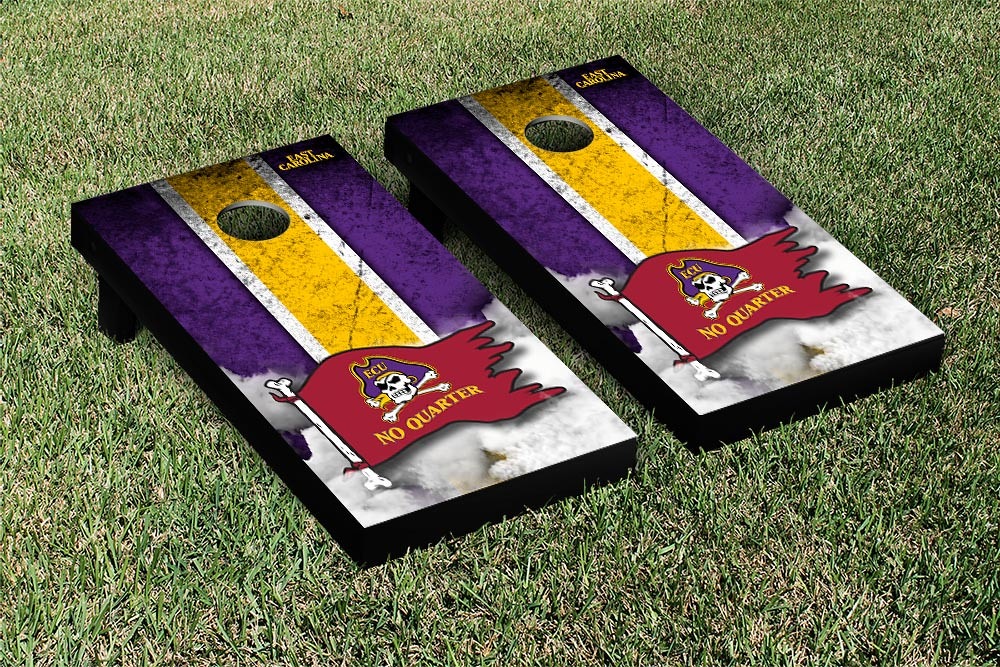 East Carolina University Pirates Vintage No Quarter Version