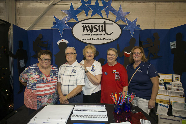 NYSUT - Pres. Magee visits the New York State Fair