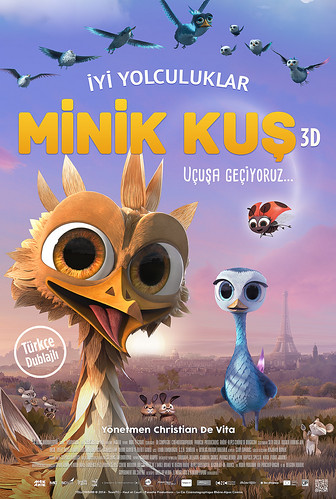 Minik Kuş - Gus – Petit Oiseau, Grand Voyage / Yellowbird (2015)