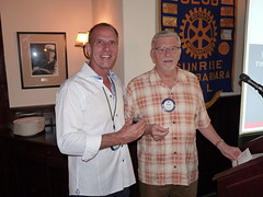 Eric Awarded Paul Harris