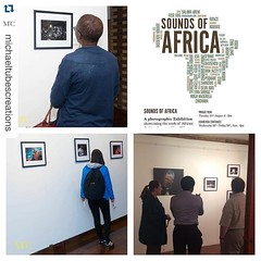 LAST DAY If in London, please catch the #SoundsofAfrica exhibition as it ends TODAY. #Repost @michaeltubescreations   ・・・  Many people from all walks of life stopping by and enjoying the exhibition. Bring your loved ones and friends to come and also enjoy