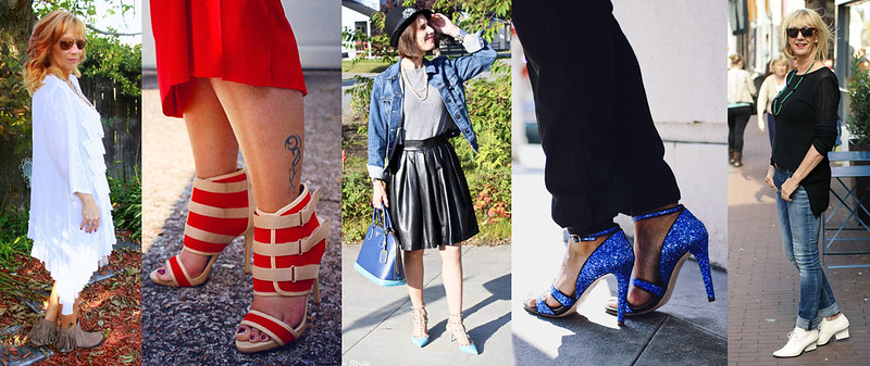 Bloggers wearing statement shoes #iwillwearwhatilike