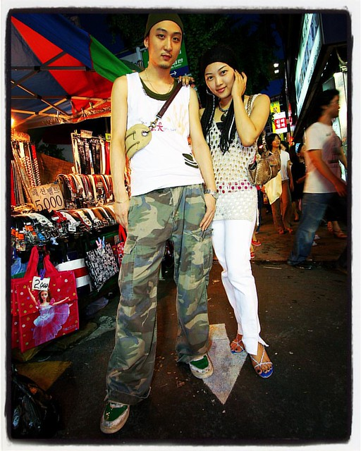 Throwback Seoul Street Fashion: Dongdaemun Reggae Couple, 2007.