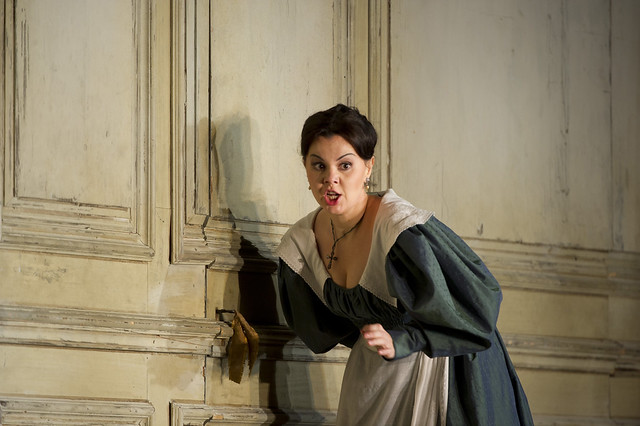 Aleksandra Kurzak as Susanna in Le nozze di Figaro, The Royal Opera © ROH/Bill Copoer, 2012