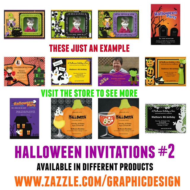 Halloween Invitations 2