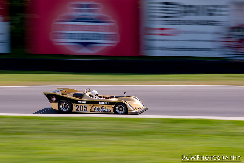 1975 Toj 205C driven by Howard Katz - Lime Rock Park - Historic Festival 33