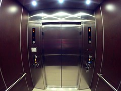 Kone ecospace elevator on virb