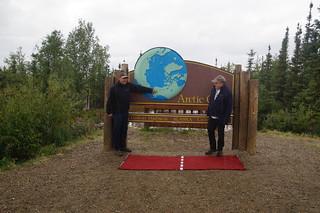 093 Samen bij  Arctic Circle