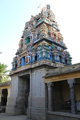 2nd level Rajagopuram - from inside