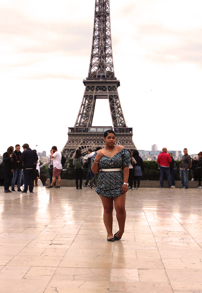 h&m trend, new look, paris, fashion blogger, casio, outfit, girly, dress, diy, ootd, wiww, wiwt,low bun, style, fashion week, paris, eiffel tower, black blogger,
