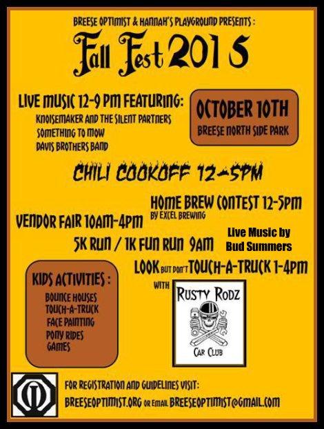 Breese Fall Fest 10-10-15