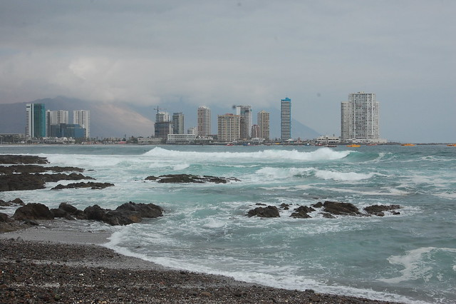 Views from the Coastline of Iquique, Chile