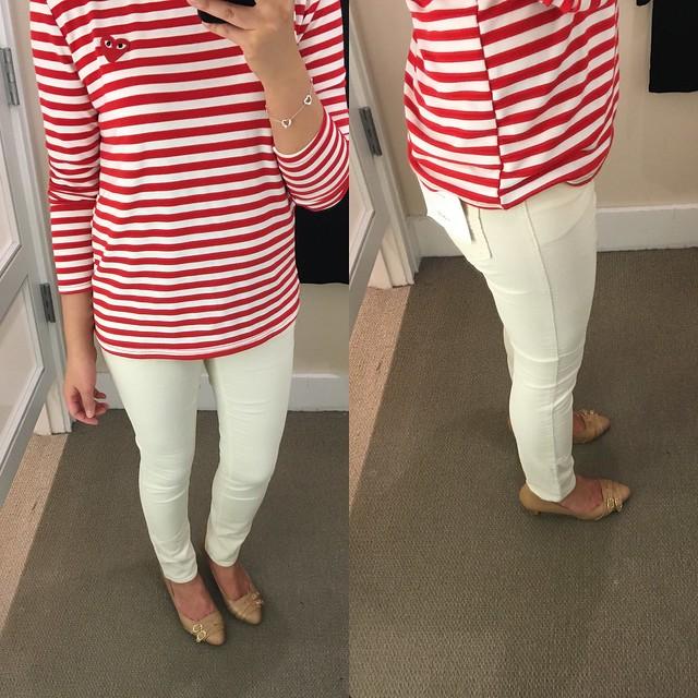 LOFT Modern Skinny Corduroy Pants, size 0/25P