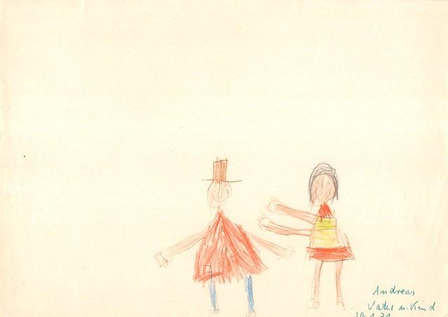 DDR-Kindergarten-Zeichnungen