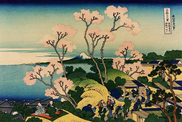 Katsushika_Hokusai,_Goten-yama_hill,_Shinagawa_on_the_Tōkaidō,_ca._1832