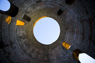 Image of Diocletian's Palace. croatia split diocletianspalace
