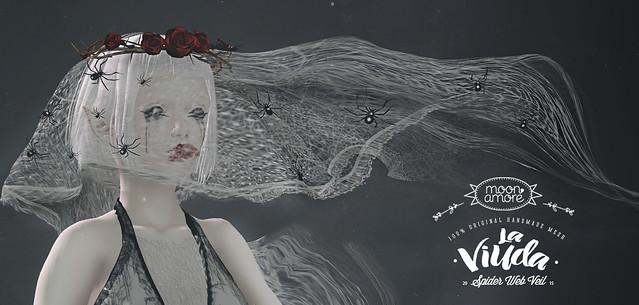 :Moon Amore: La viuda - Spider Web Veil