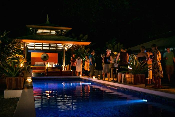 My 90 Day Alochl Fast Blue Osa Costa Rica Pool Party Nightime
