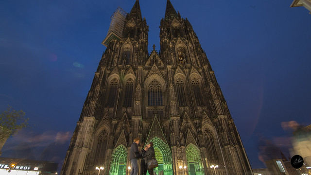 Koln, Germany by Night