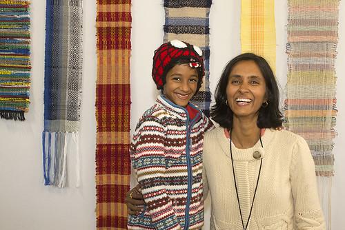 Mom-son team Kedar and Anita Narayan of The Little Code Ninja.