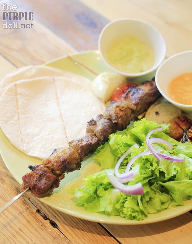 Beef Kebab (P410)