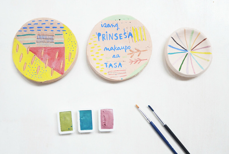 Hand-painted Ceramic Plates