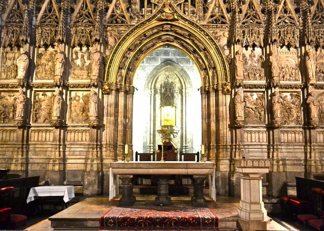 holy grail in Capilla del Santo Cadiz (The Holy Chalice Chapel), valenci