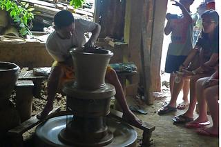 Ilocos Sur - Pagburnayan pottery making