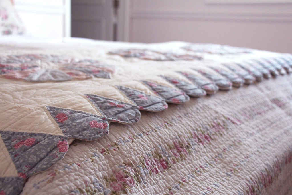 hand quilted bedding