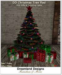 DD Christmas Tree Red_001A
