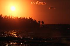 Bahamas 1988 (049) New Providence: Sonnenuntergang