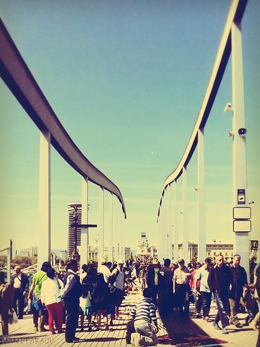Maremagnum bridge