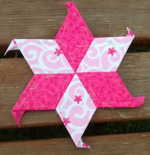 Pink partial star