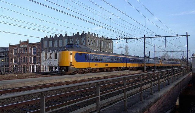 Amersfoort Koppelpoort, ICMm III IV trein treinen