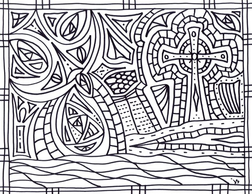 Pentecost Coloring pages – Stushie Art