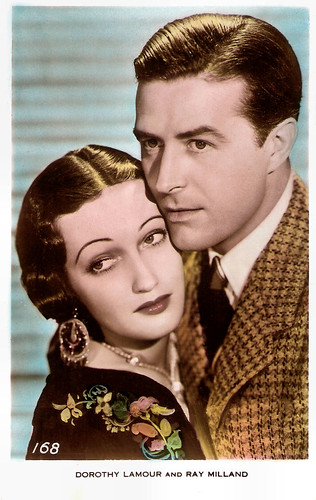 Ray Milland and Dorothy Lamour