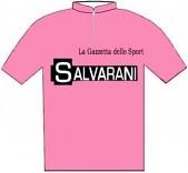 Salvarani - Giro d'Italia 1969 - La maglia rosa del vincitore Felice Gimondi