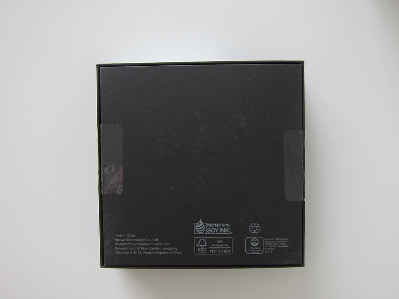 Huawei Mate 9 - Box Back