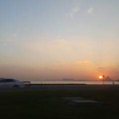 Sunrise (at Corniche, Doha ,Qatar)