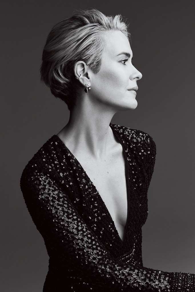 Сара Полсон — Фотосессия для «Glamour» 2016 – 1
