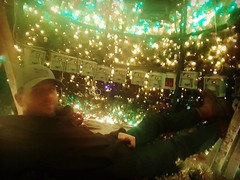 Time for a nap! Halfway through the#Christmaslight season.  That's a lot of wires and controllers!!  #lovemyjob #christmasdecorations #thechristmaslightguy #watterscreek #lightorama #largemouthbass #imissfishing #commercialchristmas #bigchristmastrees