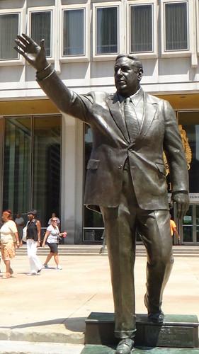 Philadelphia Frank Rizzo statue Aug 15