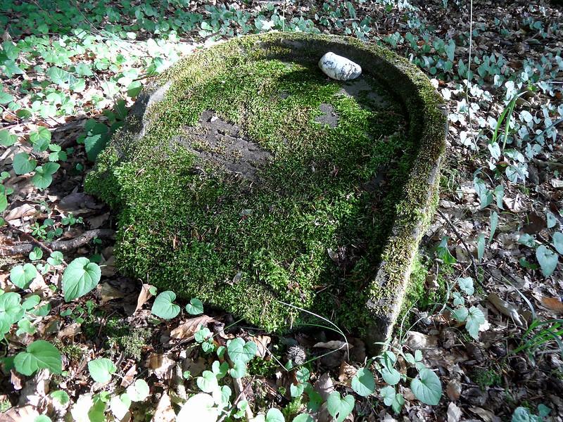 Grabstein auf dem jüdischen Friedhof in Frücht