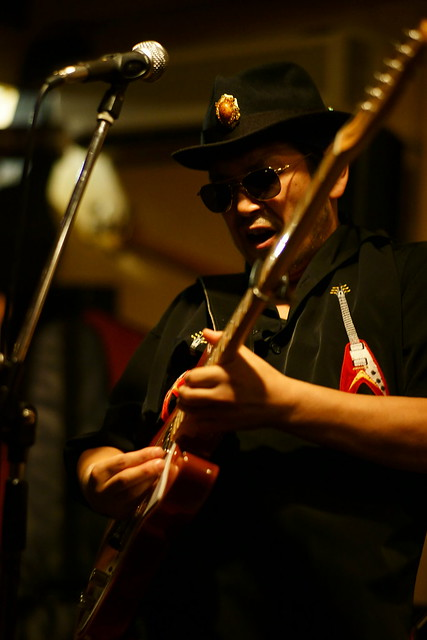 Blues live at Bright Brown, Tokyo, 16 Aug 2015. 087