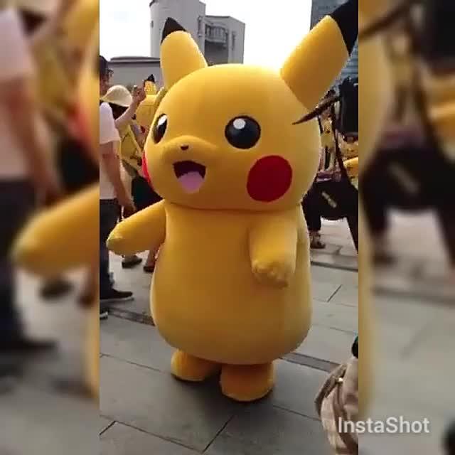Pikachu Festival Minatomirai Yokohama Japan