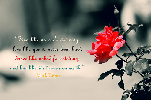 a beautiful quote to enjoy life to its fullest.