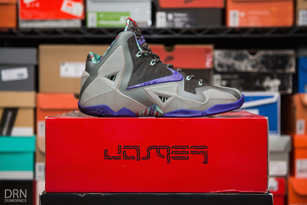 Terracotta Warrior Lebron XI's.